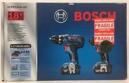 (New) Bosch 18V 2 Tool Combo Kit - CLPK232A-181 - $162.99