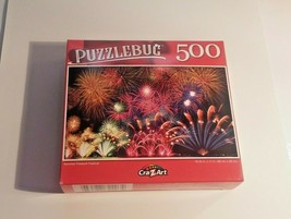 Puzzlebug Cra-z-art Summer Festival Fireworks Jigsaw Puzzle 500 Pieces New - $10.85