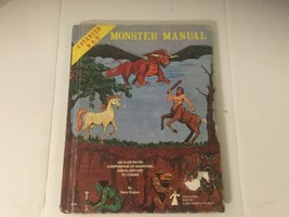 Advanced Dungeons & Dragons Monster Manual 4th Edition 1979 VINTAGE - $72.95