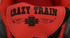 Crazy Train RUNWILD14 Black Red Cheetah Sneakers Size Ten image 6