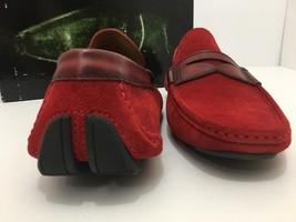 Magnanni Rafu 17987 Red Men's Loafer Size 41 US 8 M image 2