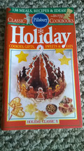 Pillsbury HOLIDAY CLASSIC X Series #130 Cookbook Dec 1991 Illustrated - $2.96