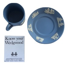 Vintage Wedge Wood Blue Chip Cup And Saucer Set - Multi-Color - Still In... - $20.00