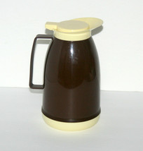 Vintage 60's MCM Coffee Serving Pitcher, Flip Top Carafe, MADE IN ITALY,... - $24.93