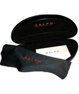 Ralph Lauren Eyeglass Sunglass Case Black Leath... - $11.00