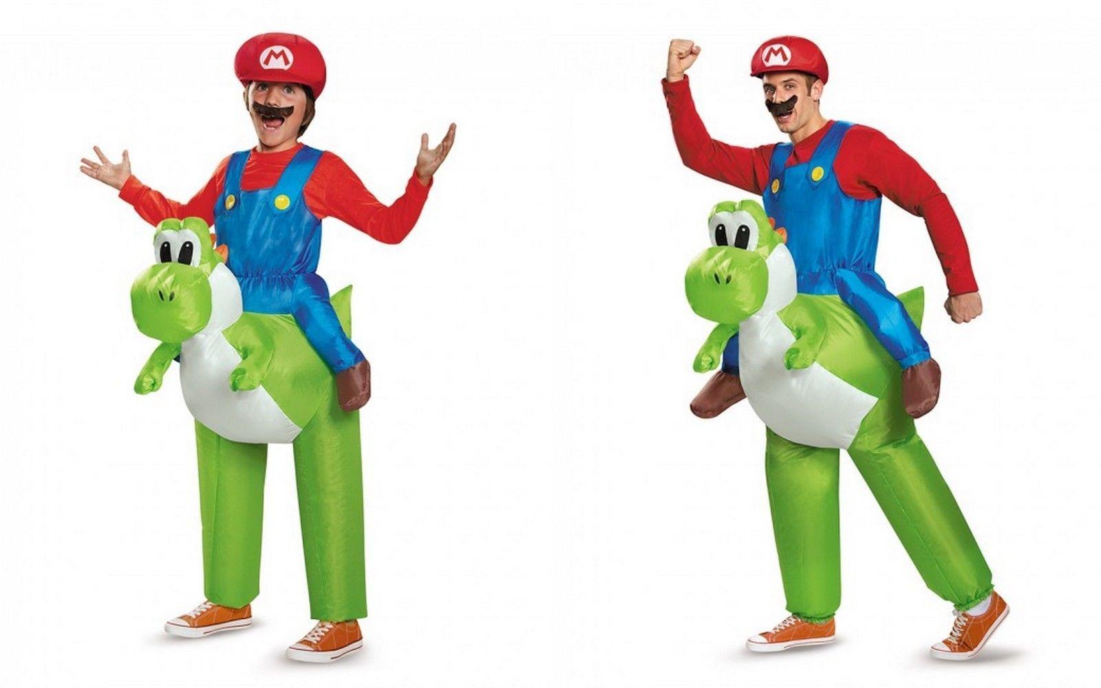 Disguise Super Mario Équitation Yoshi Adulte Enfant Taille Unique