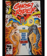 Marvel Comics GHOST RIDER Vol. 2 #32 December 1992 FIGHT FOR LIFE  w/ Dr Strange - $1.97