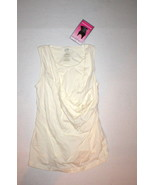 New NWT Womens Marika Bra Top Tank Yoga Pilates XS Off White Shape Tummy... - $18.00