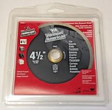 "Vermont American 28545 4-1/2"" Tile, Granite & Slate Continuous Rim Diamond Blade - $7.92"