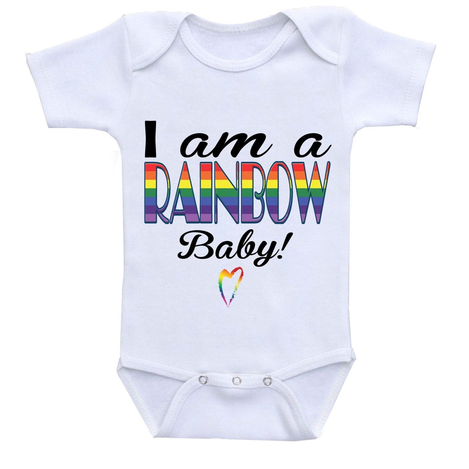 187451dc736f3 I am a RAINBOW Baby, Cute Gift Baby Bodysuit and similar items