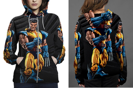 marvel Legends Wolverine Unmasked Figure Zipper Hoodie Women's - $48.99+