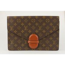 Authentic Louis Vuitton Vintage Monogram Canvas Ranelagh Clutch Bag - $554.40
