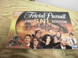 PARKER BROTHERS 42051 TRIVIAL PURSUIT SNL DVD EDITION AGE: ADULT NEW L123 - $11.76