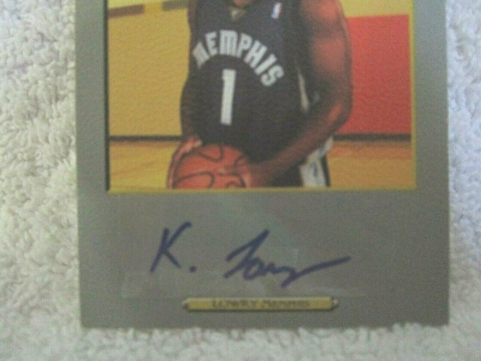 Kyle Lowry RC 2006-07 Topps Turkey Red Rookie Hologram Autograph GEM10?Raptors image 2