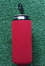 Large 500ml Red neoprene can koozie with handy clip. - $78,86 MXN