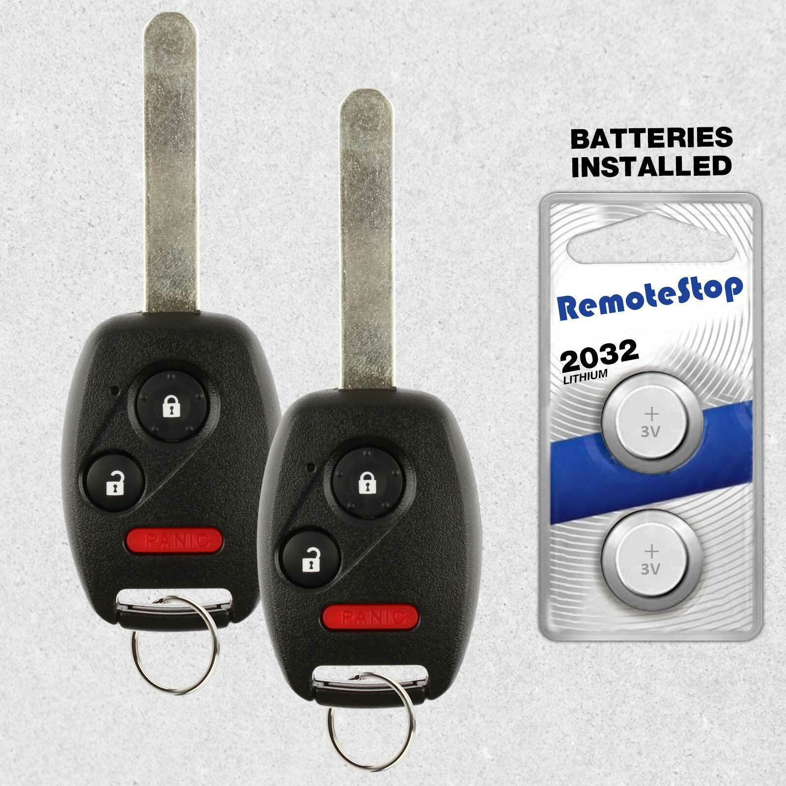 Primary image for 2 For 2006 2007 2008 2009 2010 2011 2012 2013 Honda Ridgeline Remote Car Key Fob