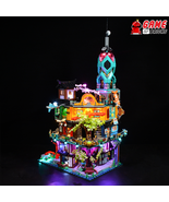 LED Light Kit for NINJAGO City Gardens - Compatible with Lego 71741 Set - $76.99 - $96.99