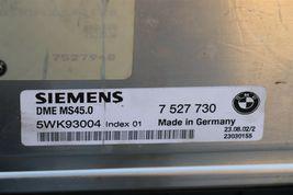 2004 BMW Z4 2.5L M54 DME ECU EWS Trunk Glove Door Ignition W/Immobilizer & Key image 6