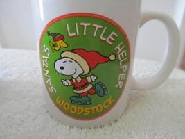 2011 Santa's Little Helper Charlie Brown Snoopy Woodstock Christmas Coff... - $17.37