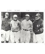 LOU GEHRIG SPEAKER TY COBB BABE RUTH 8X10 PHOTO YANKEES NY BASEBALL PICTURE MLB - $3.95