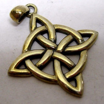 925 sterling silver Celtic Cross Pendant - $18.55