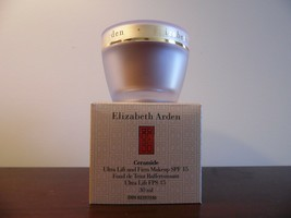 Elizabeth Arden Ceramide Ultra Lift & Firm Makeup Warm Honey 09 Nib - $9.10