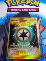 Warp Energy 123/111 SM Crimson Invasion Pokemon Secret Rare Card  - IN S... - $17.81