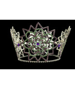 Beauty Pageant Tiara Hair Crown Crystal Rhinestone Wedding Prom Bridal 5... - $37.37