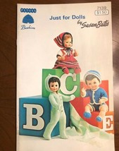 Just For Dolls Patern Book # 139 Patons Beehive - $7.92