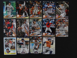 2018 Topps Update Astros Master Team Set of 14 Baseball Cards Inserts Mi... - $10.99