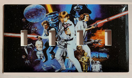 Star Wars Characters Old Poster Light Switch Outlet wall Cover Plate Home decor image 9