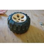 """Kid Trax wheel from 6v quad KT1050TG2  9-1/2"""" x 5-1/2"""" - $8.91"""