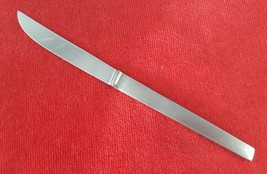 Vintage Stainless Steak Knife Arthur Salm Satin Handle Glossy Blade Italy - $9.89