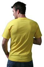 IM KING Mens Yellow Shady Shades Sunglasses Sunnies T-Shirt USA Made NWT image 3