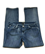 Arco Iris Jeans Juniors Sz 15 Low Rise Boot Cut Embellished Med Wash Blu... - $16.44