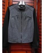 Ladies Alfani cotton Knit Polyester Zippered Fitted Jacket Size 14 P Bla... - $13.16