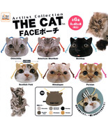 Artist Collection The Cat Face Pouch Bag Collection - $10.99