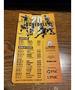 2019 Pittsburgh Steelers MAGNET SCHEDULE PUT ON YOUR FRIDGE A Must Have!!! - $9.90