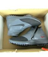 Nike Lunare Vaporstorm Golf Boa Scarpe Grigio Scuro Rosso 918622-003 Uom... - $97.72