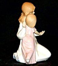 Mother and Child Figurine 1990 Paul Sebastian AA19-1684 Vintage image 3