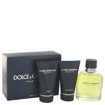 Dolce & Gabbana Pour Homme Cologne 3 Pcs Gift Set image 2