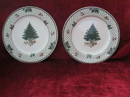 Mikasa Christmas Story set of 2 dinner plates - $22.72