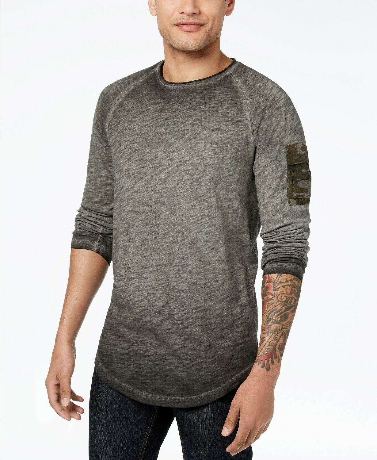 American Rag Men's Tonal Long-Sleeve T-Shirt, Size L, MSRP $30