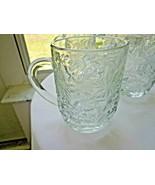 Set of 4 Princess House Fantasia Pattern Coffee Mugs - $19.80