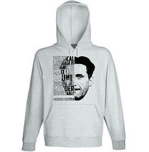 George Orwell - Political Language - New Cotton Grey Hoodie - $31.88