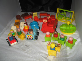 Fisher Price Little People with accessories-Teacher,Student, Swing Set,C... - $9.99