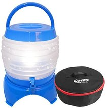 Foldable Camping Water Bottle Water Container Tank 3.95Gallon 15L with Case Hiki