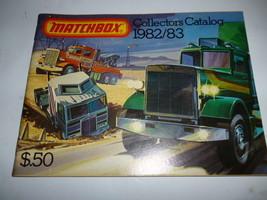 VINTAGE DIECAST MATCHBOX 1982/83 CATALOG- GOOD SHAPE - H34 - $4.90