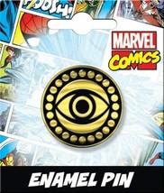 Marvel Comics Doctor Strange Eye of Agamotto Thick Metal Enamel Pin NEW UNUSED - £6.30 GBP
