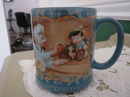 Disney Store Pinocchio Mug Cup Classic Animation Series - $11.39